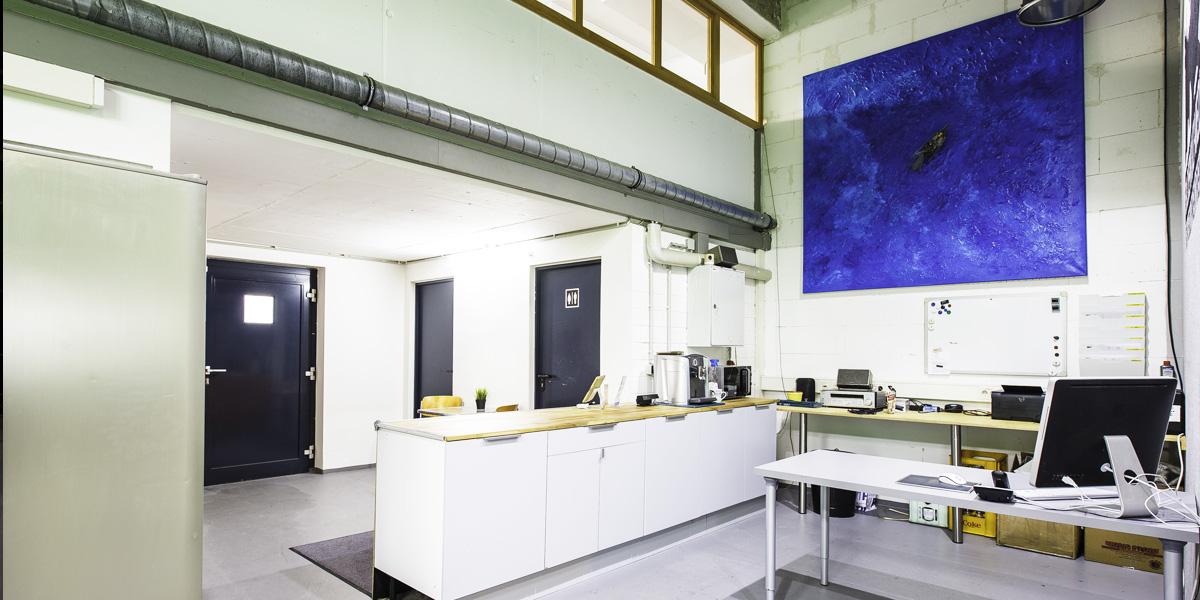 Mietstudio Bilderkult-Media Thekenbereich