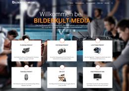 Neu Bilderkult-Media Website